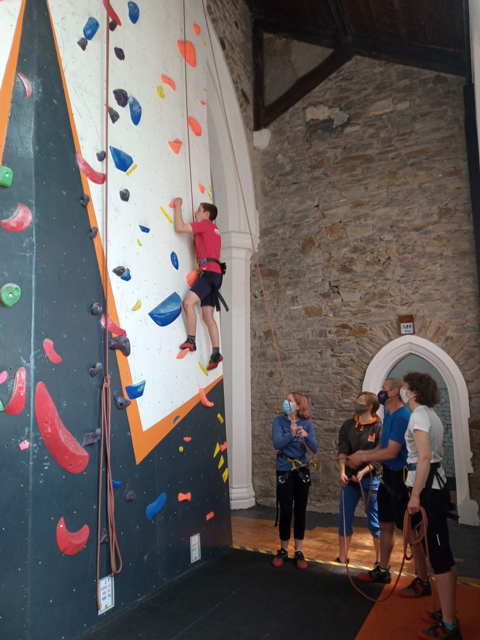 Climbing Taster Session at the Overhang Carmarthen